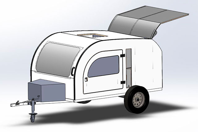 DROPLET - Model 2018 - New age compact camper