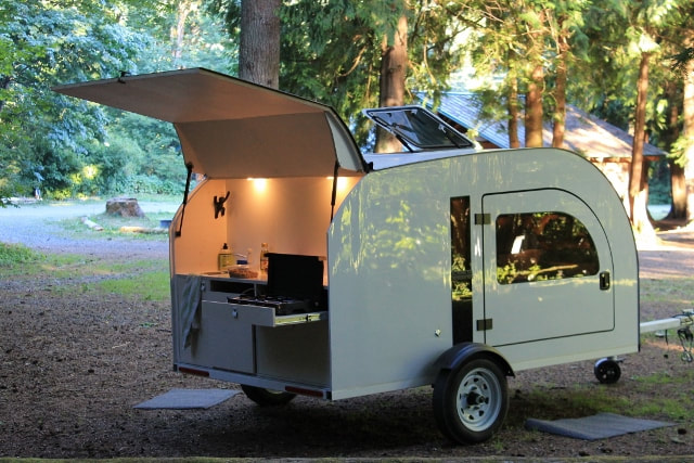 DROPLET TRAILER - New age compact camper